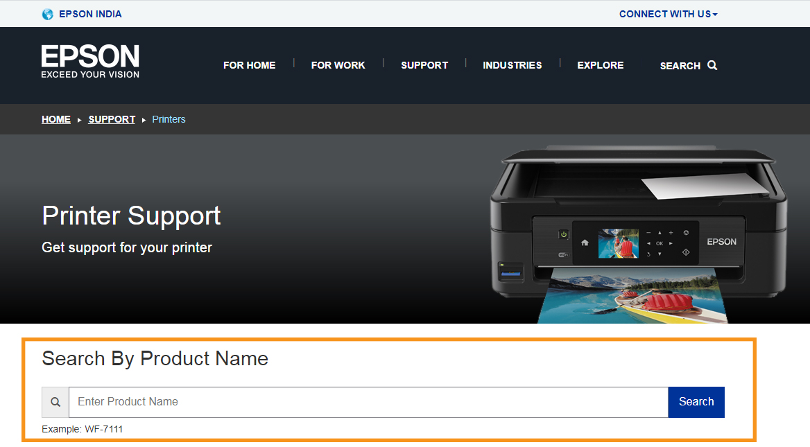 Reset the Firmware from Epson Printer's Website