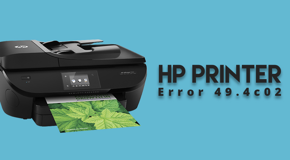 Cracked: HP Printer Error 49.4c02