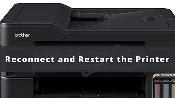 Reconnect and Restart the Printer